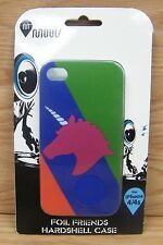 Genuine MUUV Foil Friends Unicorn Hardshell Case for iPhone 4/4s Only **NEW**