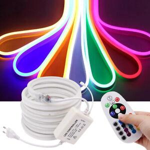 5050 LED Neon Flex RGB Neonlampen Neonröhre Lampe Strip Neonleuchte Schlauch