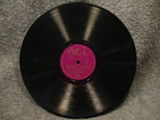 "78 RPM 10"" Record Frankie Masters Yours & The First One To Say Good Morning 6190"