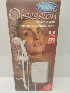 New Galaxy Obsession Deluxe 9.5Kw electric Shower Free Postage