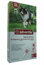 Advantix Spot On for Dogs  10kg to 25kg - 4 Pipettes