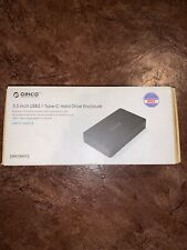 ORICO USB 3.1 Gen 2 External 3.5 Inch Mobile HDD Hard Drive Enclosure Tool Free
