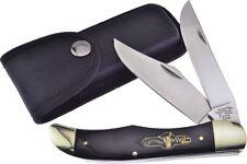 GERMAN BULL Buffalo Horn Folding Hunter knife/knives  - GB-069BH - New In Box