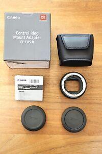 Canon Control Ring Mount Adapter EF-EOS R - EF-Objektive an RF Mount - Neuwertig