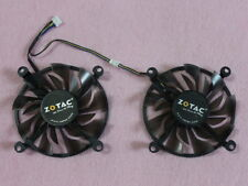 ZOTAC GTX1060 GTX960 GTX950 Video Card Round Dual Fan Replacement 4Pin 12V R227