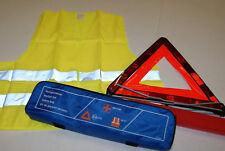 TRAVEL KIT CONTAINING: HI-VISIBILITY VEST, WARNING TRIANGLE, ROAD SAFETY BARGAIN