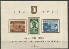 Lithuania, M/S, MNH