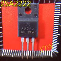 1pairs 2SA2222/2SC6144 A2222/C6144 TO-220F Transistor