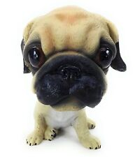 Bobbing Head Pug Dog Bobble Head Auto Car Dashboard Decors Toy Bulldog Ornaments