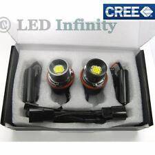 2x 80W White CREE LED Angel Eye Halo Ring Marker Bulbs for BMW E39 E60 E53