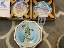 Lot Of 3 Dreamsicles Plates Hamilton Collection