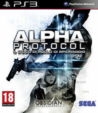 Alpha Protocol  - PS3 ITA - NUOVO SIGILLATO  [PS30393]