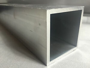 Aluprofil Vierkantrohr Aluminium Quadratrohr Alu Rohr Stab Stange Square