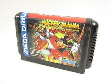 Mega Drive MICKEY MANIA Cartridge Only Sega Japan Game mdc
