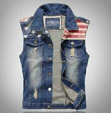 Men's Denim Vests | eBay
