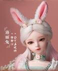 """New 24"""" 1/3 Handmade PVC BJD MSD Lifelike Dolls Joint Dolls Women Girl Gift Mina"""