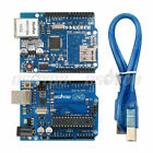 W5100 Ethernet Shield Expansion Board + UNO R3 ATmega328 Kit for Arduino Starter