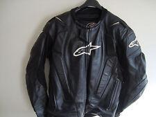 Alpinestars GP Black Leather Motorcycle/Motorbike SIZE 56