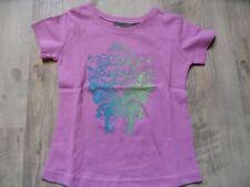 MEXX schönes T-Shirt flieder Allover Schmetterlinge Gr. 98/104 NEU   ST817