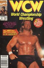 WORLD CHAMPIONSHIP WRESTLING (WCW) (1992 Series) #1 NEWSSTAND Very Fine Comics