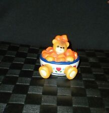 "1994 Enesco Lucy & Me ""Sweet Potatoes"" Porcelain Bear Figurine"