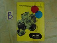 Exakta Varex IIA 24x36mm Ausgereift in Zwei Jahrzehnten ca.1960
