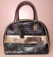 GUESS SUMMERLAND Dome Traveler Travel Carry On Luggage Shoulder Bag Pink Black