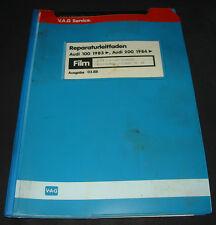Microfich Audi 100 / 200 Typ 44 C3  2,23 Liter Einspritz Motor MKB 1B 2B 1988