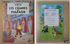 Tintin  LES CIGARES DU PHARAON  EO coul. française 1955