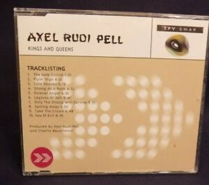 Axel Rudi Pell - Kings and Queens, CD, Promo, near mint