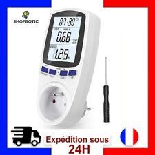 Prise de Moniteur Compteur Energie Ecran LCD (Tarifs Doubles) AC 185V ~ 264V