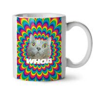 Psychedelic High Fun NEW White Tea Coffee Mug 11 oz   Wellcoda