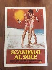 manifesto,2F Scandalo al sole  Summer Place Sandra Dee Troy Donahue Egan Daves G