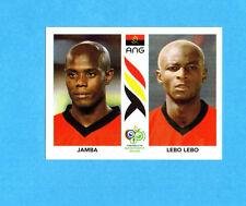 PANINI-GERMANY 2006-Figurina n.304- JAMBA+LEBO LEBO  -ANGOLA-NEW BLACK