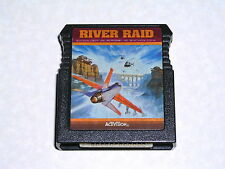 River Raid cartridge for Atari 400/800/XL/XE computer - WORKS & GUARANTEED!