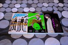 DURARARA!! DRRR!! Volumes 1-3 Manga Collection ENGLISH