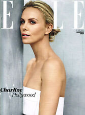 ELLE UK 6/2015 Ltd Ed CHARLIZE THERON Anna Nevala LILY WALKER Stella Maxwell NEW
