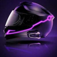 Casque de moto Night Riding LED Signal lumineux Clignotant Autocollant 3-Modes
