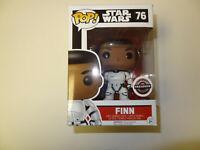 Funko POP Star Wars Finn Stormtrooper GameStop Exclusive Figure #76  New