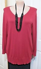 LADIES EMERSON JUMPER SIZE XL OR 16 V NECKED