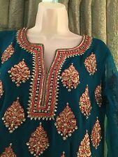 Indian Gorgeous Party Wear Punjabi Patiala Shalwar Suit By Pashmina