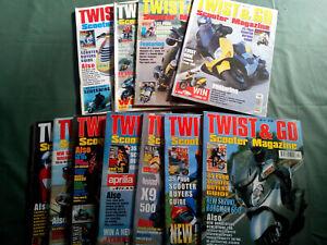 Twist & Go Rivista inglese scooter magazine
