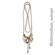 Art Deco Collier WMF  korallenfarbener Bakelit Metall wohl versilbert