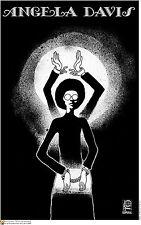 Political cuban POSTER.Free Angela Davis.Civil Right 21.World Revolution Art