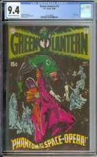 GREEN LANTERN #72 CGC 9.4 OW/WH PAGES