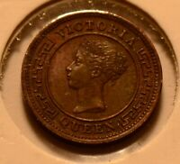 C0052 Ceylon 1870  1/4 Cent   combine shipping