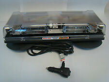 Whelen R2LPVCA LED Light Bar Six LIN6, Magnetic/Suction, Amber, Clear Dome
