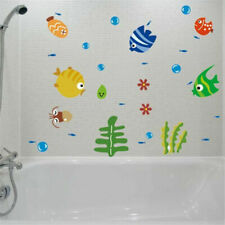 Ocean Fish Room Stickers Vinyl Removable Mural Wall Stickers Kids Bath Room HOT