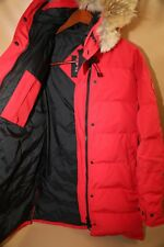 #166  Canada Goose Shelburne  Coyote Fur Trim Down Parka Size XL  $950 retail