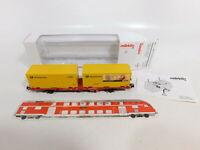 CF41-0,5# Märklin H0/DC PMS 60-04/47708 Postmuseumswagen 2000 NEM KK; NEUW; OVP